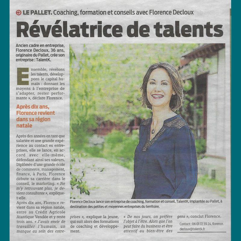 Article TalentK Presse Océan